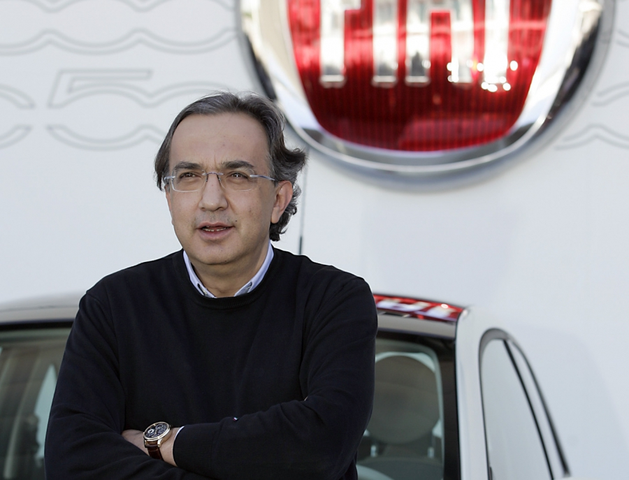 Sergio Marchione, CEO Fiat Chrysler
